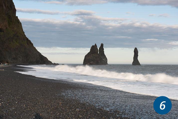 islanda spiaggia nera reynishverfi