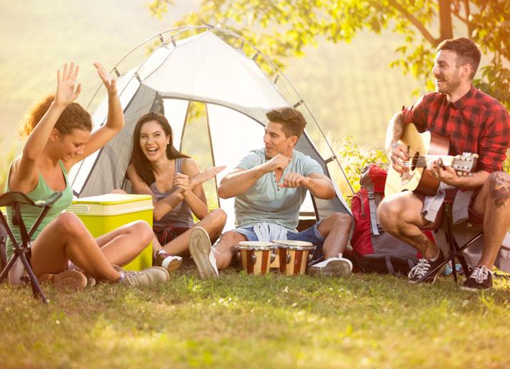 Come organizzare la tua prima volta in campeggio