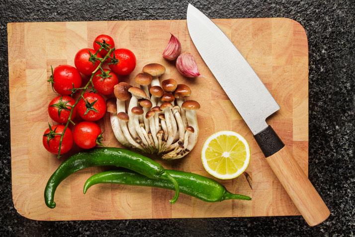 Coltello per le verdure