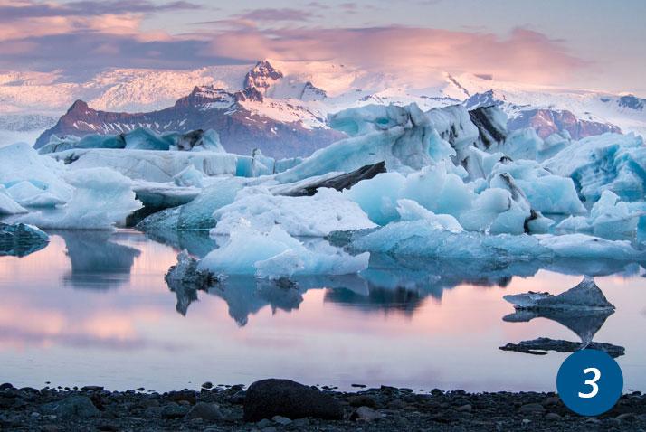 islanda laguna Jökulsárlón