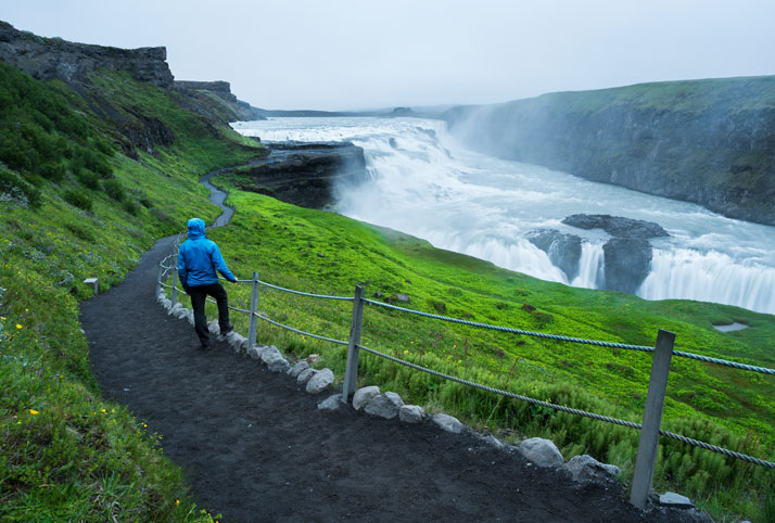 cascate gullfoss islanda