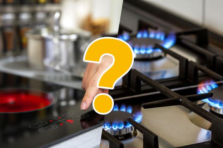 Cucina a gas o a induzione, quale scegliere?